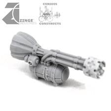 Zinge Industries Steampunk Gun - Various Cannons Missile Machine Mortar Gatling