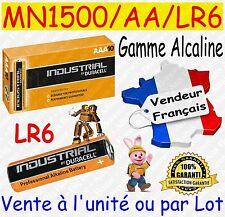 Piles AA LR6 MN1500 DURACELL - Dispo aussi : CR2032 CR2025 CR2016 CR2430 CR2450