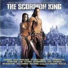 The Scorpion King [Soundtrack] by Original Soundtrack (CD, Mar-2002, Universal)