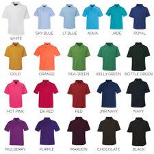 NEW! JBs Plain Blank Polo all colours   Kids 2KP   Infant 2IP   Sizes 00 - 14