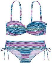 DORINA Bikini 2-teilig ACAPULCO in XS + in XXL dezent neonbunt (D17090A+D17128C)
