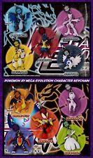 """Pokemon xy oras 3D mega evo 2"""" mascot figure dracaufeu mewtwo 10 styles * neuf *"""