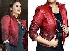 Avengers Age of Ultron Elizabeth Olsen Scarlet Witch Wanda Maximoff Costume Jack