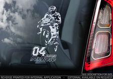 Andrea Dovizioso #04 - Voiture Fenêtre Autocollant-Moto GP Dovi MOTOGP Décalque Signe-V02