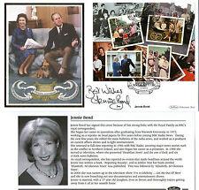 2007 ROYAL DIAMOND WEDDING M/SHEET SIGNED JENNIE BOND BENHAM FIRST DAY COVER SHS