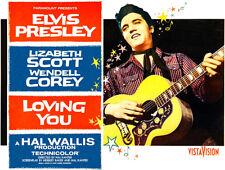 Loving You - Elvis - 1957 - Movie Poster