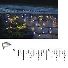 LED Cortina de luces 4 Meter 144 LEDs IP44 230v diferentes colores/Guirnalda