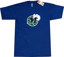 Dallas Mavericks Throwback Hardwood Classics Adidas Blue Shirt
