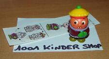 KINDER K00 N°129 KUGELFIGUREN PERSONNAGE BOULE LAUSBUB + BPZ