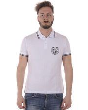 Polo Versace Jeans Polo Shirt % SLIM Uomo Bianco B3GRA7P1-3