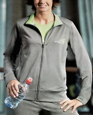 Damen FITNESSJACKE Trainingsjacke Laufjacke Gr.36/38 40/42 grau/grün NEU