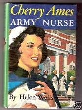 CHERRY AMES ARMY NURSE  ex+    pic cover