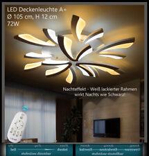 XW062 Acryl LED Deckenleuchte Lampe light Lichtfarbe  Helligkeit einstellbar  A+