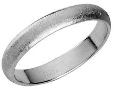 925 ECHT SILBER ⚤ Ehering Verlobungsring Freundschaftsring Trauring strukturiert