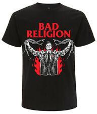Bad Religion 'Snake Preacher' (Black) T-Shirt - NEW & OFFICIAL!