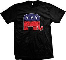 Elephant Republican Party GOP Political Statement Politics Mens T-shirt