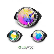 GloFX Chrome Cyclops Kaleidoscope Goggle Opticals Rave Gear Disco Night Show