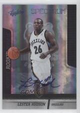 2009-10 Absolute Memorabilia/25 #139 Lester Hudson Memphis Grizzlies Auto Rookie