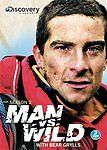 MAN VS WILD SEASON 2 3 DVD Set. Free Shipping.