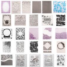 DIY Plastic Embossing Folders Template Die Cutting Scrapbooking Album Card Decor