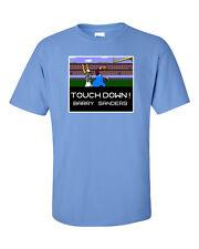 Barry Sanders Detroit Lions Tecmo Bowl PIC T-shirt S-XXXXXL