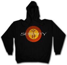 SERENITY LOGO HOODED SWEAT Joss Whedon TV Series Firefly Hoodie Kapuzenpullover