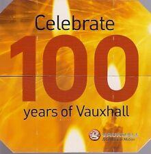 Vauxhall Meriva & Signum 2003 UK Market Novelty Endless Card Brochure