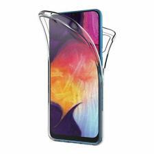 Custodia per Samsung Galaxy A50 A40 A30 A10 -360 antiurto in silicone anteriore + posteriore duro