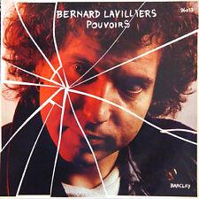 Bernard LAVILLIERS Pouvoirs FR Press Barclay 96013 1979 LP