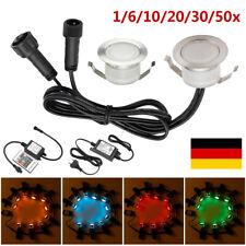 1-10er Möbeleinbaustrahler 12V LED Mobi 3W = 30W Weiss ohne Trafo