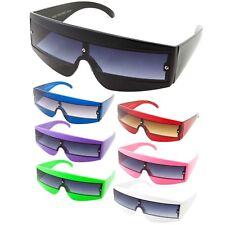 80s Visor Wrap Around Cyclops Space Robotic Party Shades Sunglasses Lady Gaga