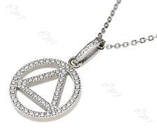 Modeschmuck viereck Herz Design Damen Frauen Halskette Geschenk Anhänger