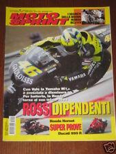 MOTOSPRINT 2005/7 HONDA HORNET DUCATI 999 R VALE ROSSI