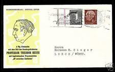 BRD Nr. 180x2 Schiffspoststempel Th. Heuss  (D)