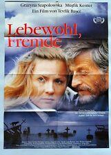 (P14) Kinoplakat Lebewohl, Fremde - 1991 Grazyna Szapolowska / Müsfik Kenter
