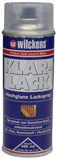 Wilckens Klarlack 400ml (9,86€/L) Seidenglanz o. Hochglanz Spray Holz Metall usw