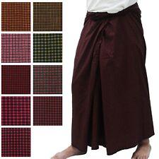 Mens Burmese Pants Paso Myanmar Longyi Traditional Dress Made in Myanmar
