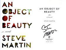 Steve Martin SIGNED An Object of Beauty 1st/1st HC ~ Beautiful!