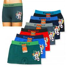 12 Knocker Boys Boxer Shorts Seamless Transformer Spandex Kids Underwear S M L