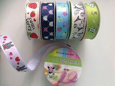 1M cinta de cinta de Grogrén Impreso Washi en otro lado Adherente Decorativo Craft