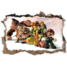 Stickers enfant 3D Mario réf 23810