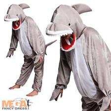 Shark Kids Fancy Dress Animals World Book Day Character Halloween Childs Costume
