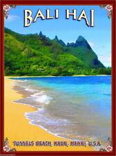 96394 Bali Hai Tunnels Beach Hawaii Kauai United Decor WALL PRINT POSTER FR