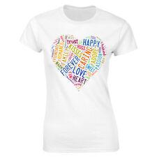 San Valentín Love Camiseta Mujer Regalo Ajustada CUT novia