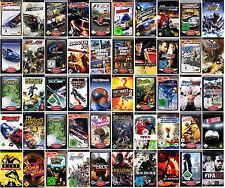 PSP Spiele, nur 1 Spiel auswählen - mit Handbuch - OVP - Need for Speed usw.