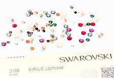 Genuine SWAROVSKI 3188 XIRIUS Lochrose Round Sew-On Stones Crystals One Hole