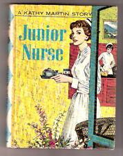 Nurse Story  Kathy Martin JUNIOR NURSE 1960  Ex pic cov