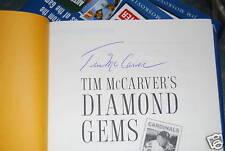 Diamond Gems signed by Tim McCarver