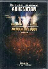 2 DVDS ZONE 2 CONCERT--AKHENQATON--LIVE AU DOCK DES SUDS MARSEILLE + CLIPS