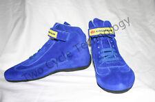 Blue Go Kart, Car Racing  Shoes, Fireproof Boots